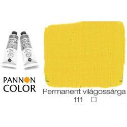 Pannoncolor akrilfesték, permanens világossárga 111/1, 38ml