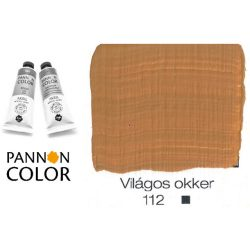 Pannoncolor akrilfesték, világos okker 112/1, 38ml
