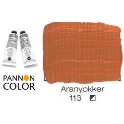 Pannoncolor akrilfesték, aranyokker 113/1, 38ml