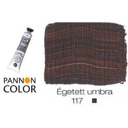 Pannoncolor akrilfesték, égetett umbra 117/1, 22ml