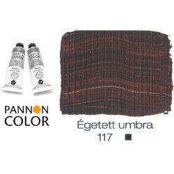 Pannoncolor akrilfesték, égetett umbra 117/1, 38ml