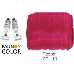 Pannoncolor akrilfesték, rózsa 120/1, 38ml