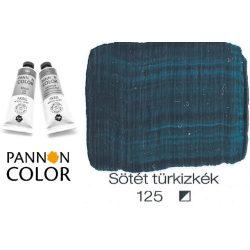 Pannoncolor akrilfesték, sötét türkizkék 125/1, 38ml