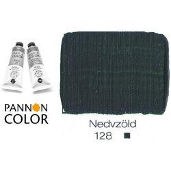Pannoncolor akrilfesték, nedvzöld 128/1, 38ml
