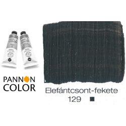 Pannoncolor akrilfesték, csontfekete 129/2, 38ml
