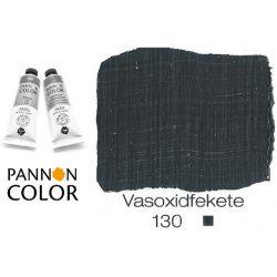 Pannoncolor akrilfesték, vasoxidfekete 130/1, 38ml