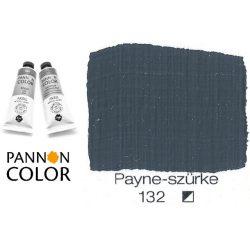 Pannoncolor akrilfesték, Paynes-szürke 132/1, 38ml