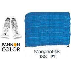 Pannoncolor akrilfesték, mangánkék 138/2, 38ml