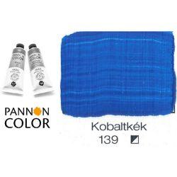 Pannoncolor akrilfesték, kobaltkék 139/3, 38ml