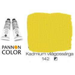 Pannoncolor akrilfesték, kadmium világossárga 142/2, 38ml