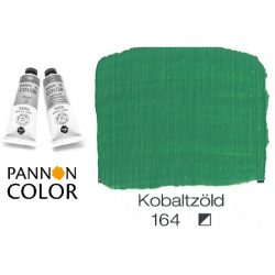 Pannoncolor akrilfesték, kobaltzöld 164/3, 38ml