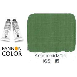 Pannoncolor akrilfesték, krómoxidzöld 165/1, 38ml