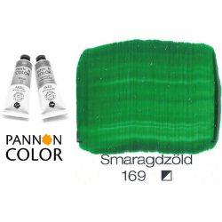 Pannoncolor akrilfesték, smaragdzöld 169/1, 38ml