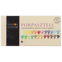 Pannoncolor porpasztellkréta feles 24szín/készlet