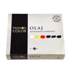 Pannoncolor olajfesték művész alapkészlet 6*22ml