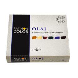 Pannoncolor olajfesték művész kiegészítőkészlet 6*22ml