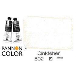 Pannoncolor olajfesték, cinkfehér 802/1, 38ml **