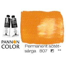 Pannoncolor olajfesték, permanent sötétsárga 807/1, 38ml **