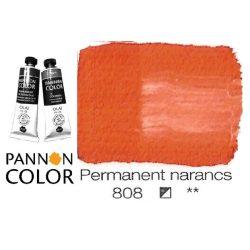 Pannoncolor olajfesték, permanent narancssárga 808/1, 38ml **