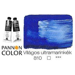 Pannoncolor olajfesték, világos ultramarinkék 810/1, 38ml ***