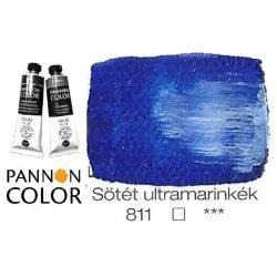 Pannoncolor olajfesték, sötét ultramarinkék 811/1, 38ml ***