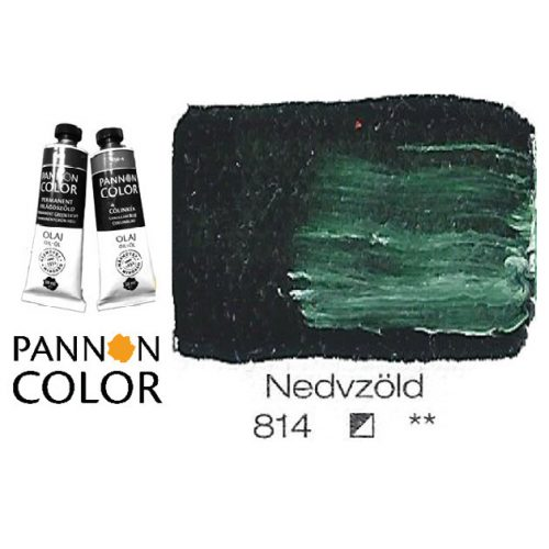 Pannoncolor olajfesték, nedvzöld 814/1, 38ml *