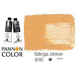 Pannoncolor olajfesték, sárgaokker 816/2, 38ml*