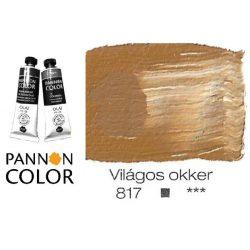 Pannoncolor olajfesték, világos okker 817/1, 38ml *