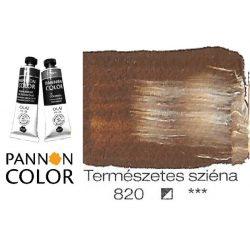 Pannoncolor olajfesték, melegszürke 834/1, 38ml *