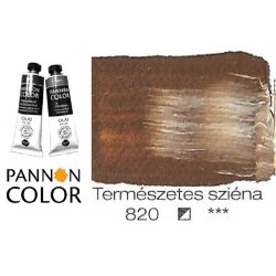 Pannoncolor olajfesték, elefántcsont-fekete 841/4, 38ml