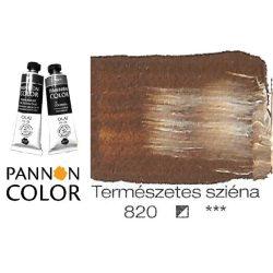 Pannoncolor olajfesték, természetes sziéna 820/1, 38ml **