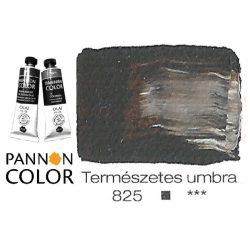 Pannoncolor olajfesték, természetes umbra 825/1, 38ml