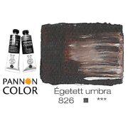 Pannoncolor olajfesték, égetett umbra 826/1, 38ml