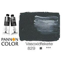 Pannoncolor olajfesték, vasoxidfekete 829/1, 38ml *