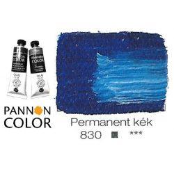 Pannoncolor olajfesték, permanentkék 830/1, 38ml *