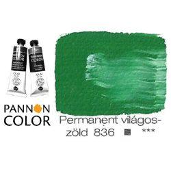 Pannoncolor olajfesték, permanent világoszöld 836/2, 38ml *