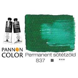 Pannoncolor olajfesték, permanent sötétzöld 837/2, 38ml *