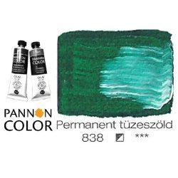 Pannoncolor olajfesték, permanent tüzeszöld 838/1, 38ml **
