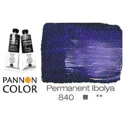 Pannoncolor olajfesték, permanent ibolya 840/1, 38ml *