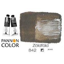 Pannoncolor olajfesték, zöldföld 842/1, 38ml **