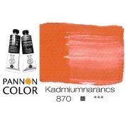 Pannoncolor olajfesték, kadmium narancssárga 870/4, 38ml *