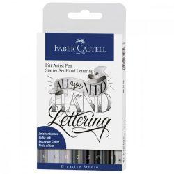 Faber-Castell Pitt művész filctoll 8db-os kezdő levélíró szett