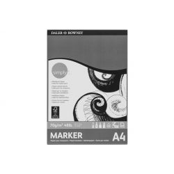 Daler Rowney Simply marker tömb 70g A4 40lap