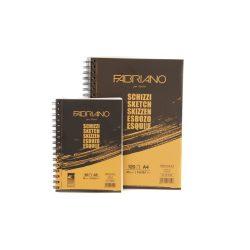 Fabriano rajztömb Schizzi A4, 90g-120lap, oldalt spirálos