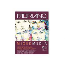 Fabriano Mixed media tömb A4 40lap 250g