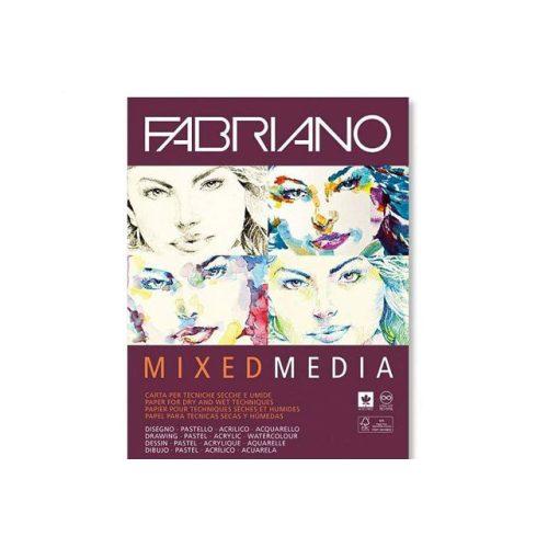 Fabriano Mixed media tömb A3 40lap 250g