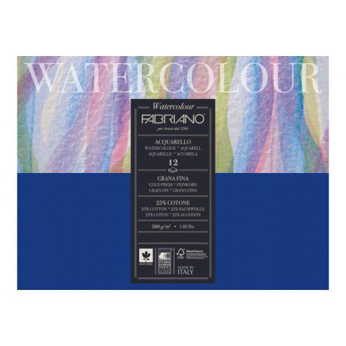 Fabriano Academia akvarell tömb 300g-12lap, 26x36cm