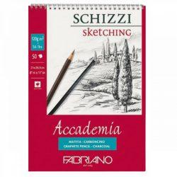 Fabriano Academia Schizzi / Sketching tömb 120g-50lap, 21x29,7cm