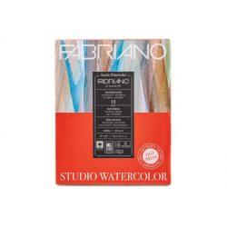 FABRIANO akvarell tömb, sima 300gr, 20,3x25,4cm/12 lap