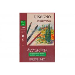 FABRIANO Accademia tömb 200g/m², ragasztott 14,6*21cm 30lap ref.41201421